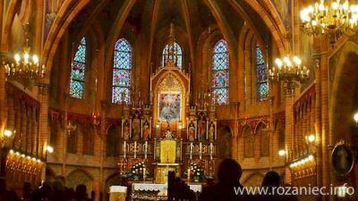 Dzień skupienia w Gietrzwałdzie dla czcicieli Matki Bożej Pompejańskiej
