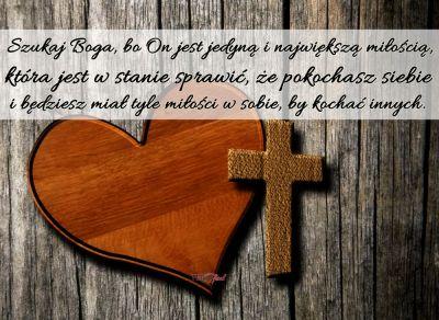 """Zrozumieć tajemnicę nawrócenia…  Okazuje się, że przez grzech można spotkać się z Bogiem. Przez grzech można odkryć wielkość miłości Boga. Co więcej, potęgę tej miłości najpełniej odkrywają w chwili nawrócenia grzesznicy. A dzieje się tak dlatego, ponieważ każdy grzech jest zawsze dziełem miłości tego świata. A miłość ta to nic innego, jak wypaczony obraz  prawdziwej miłości. Wszystkie wady główne to wypaczona miłość własna , to niewłaściwie ustawiona miłość. Ile razy człowiek popełnia grzech, tyle razy albo chce kochać """"coś"""" lub """"kogoś"""" na tym świecie, albo chce kupić jego miłość, to znaczy pragnie, aby """"ktoś"""" go kochał za """"coś"""". W pewnym momencie taka miłość staje się gorzka i człowiek zostaje sam. Nic bowiem, co pochodzi od tego świata, nie potrafi człowieka uszczęśliwić. Każdy , kto usiłował kupić czyjąś miłość, wcześniej czy później odkryje, że to w ogóle  nie jest miłość. W tej sytuacji zostaje kompletnie sam, odarty i zniszczony przez grzechy. Wtedy zaczyna tęsknić za tym, aby ktoś go kochał bezinteresownie, by ktoś go kochał, jakim jest, aby on nie musiał się stroić i ukrywać tego, co jest w nim słabe i niedoskonałe. I to jest godzina łaski. Wtedy bowiem człowiek zaczyna odkrywać , że tylko Bóg potrafi go kochać takim , jaki jest w całej prawdzie i to jest początek nawrócenia. Dopiero człowiek, który potrafi odkryć, że Bóg nie czeka na kopę jego dobrych uczynków, ani na to czy przyjdzie do Niego wspaniale ubrany, czy jest w doskonałej formie, ale kocha go takim , jaki jest, dopiero ten człowiek odkrywa potęgę miłości Boga i wchodzi na drogę autentycznego nawrócenia.../ ks. Edward Staniek - """"Ewangeliczne uczty""""/"""