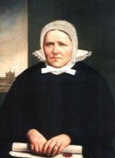 Maria Luiza urodziła się 21 września 1817 r. w Nysie, w niemieckiej rodzinie mieszczańskiej. Jej rodzicami byli Karol Antoni Merkert i Barbara z domu Pfitzner. Dzień później została ochrzczona w nyskim kościele św. Jakuba i św. Agnieszki. W kolejnym roku, po śmierci ojca, rodzina zubożała. Maria, wraz z siostrą Matyldą, ukończyła katolicką szkołę dla dziewcząt w Nysie. Po śmierci matki w 1842 r. obie sprzedały skromny majątek i wraz z Franciszką Werner oraz Klarą Wolff poświęciły się pomocy opuszczonym chorym i bezdomnym w Nysie. Po mszy w dniu 27 września 1842 r. (dzień ten był wspomnieniem świętych Kosmy i Damiana, lekarzy-męczenników z III w.) złożyły przed obrazem Serca Pana Jezusa w nyskim kościele św. Jakuba i św. Agnieszki akt oddania - zobowiązały się nieść pomoc potrzebującym bez względu na wyznanie, narodowość i płeć. 19 listopada 1850 r. Maria Merkert rozpoczęła w Nysie organizowanie Stowarzyszenia św. Elżbiety dla pielęgnacji opuszczonych chorych w ich własnych domach (ta troska o chorych pozostających bez opieki we własnych środowiskach jest charakterystyczna dla pierwszych elżbietanek). 4 września 1859 r. uzyskała dla stowarzyszenia zatwierdzenie diecezjalne. Heinrich Förster - biskup wrocławski - uznał stowarzyszenie za kongregację kościelną, a miesiąc później zatwierdził jej statuty. W tym też roku Maria Merkert została wybrana na pierwszą przełożoną generalną Zgromadzenia Sióstr św. Elżbiety. Funkcję tę pełniła przez 13 lat, aż do śmierci. 5 maja 1860 r. złożyła śluby zakonne: oprócz czystości, ubóstwa i posłuszeństwa - także posługi chorym i najbardziej potrzebującym. W Nysie wybudowała dom macierzysty, a pod jej kierownictwem powstało 90 domów zakonnych, 12 szpitali i wiele domów opieki aż w 9 diecezjach (chełmińskiej, gnieźnieńsko-poznańskiej, warmińskiej, wrocławskiej, Fulda, Ołomuniec, Osnabrück, Praga, Paderborn) i 2 wikariatach apostolskich (Saksonii i Szwecji). 7 czerwca 1871 r. papież Pius IX udzielił aprobaty założonemu przez nią zgromadze