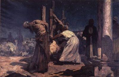 14 listopada Święty Mikołaj Tavelić, męczennik Według Martyrologium rzymskiego Mikołaj pochodził z dalmatyńskiego Szybernika. Urodził się w 1340 r. na terenie obecnej Chorwacji. Był franciszkaninem. Pracował przez 12 lat jako duszpasterz w Bośni. W 1384 r. zgłosił się do pracy w Kustodii Ziemi Świętej. Przez dłuższy czas opiekował się - wraz z innymi zakonnikami - miejscami kultu i pielgrzymami. Zginął wraz z trzema towarzyszami: Francuzami Deodatem z Rodez i Piotrem z Narbonne oraz Włochem Stefanem z Cuneo, kiedy postanowili tak jak św. Franciszek głosić Ewangelię Jezusa sułtanowi. Przygotowali wystąpienie na piśmie po łacinie oraz po arabsku i 11 listopada 1391 r. udali się do meczetu Omara. Było to w dniu, w którym mahometanie uroczyście obchodzili Kurban Bayram (Święto Ofiarowania - jedno z najważniejszych świąt w świecie islamu). Nie zostali wpuszczeni, ale zaprowadzono ich do kalifa. Tam zaczęli czytać swój tekst, w którym napisali wprost, że należy odrzucić naukę Mahometa. Słuchający ich tłum muzułmanów zapałał wielkim gniewem. Zażądano wycofania tych stwierdzeń, a potem nalegano, żeby misjonarze wyrzekli się wiary. Kiedy franciszkanie odmówili, zostali brutalnie pobici. Wrzucono ich zakutych w dyby do lochu, gdzie - pozbawieni nawet wody - spędzili trzy dni. 14 listopada 1391 r. zostali zawleczeni na sąd, który odbył się w pobliżu istniejącej do dziś Bramy Dawida w Jerozolimie. Ponownie odmówili zaparcia się Chrystusa. Wtedy zostali zasieczeni mieczami, ich ciała rozerwano na strzępy i spalono, a prochy rozsypano. Ich męczeństwo opisał wiernie Gerard Calveti, ówczesny gwardian jerozolimskiego konwentu Najświętszego Zbawiciela (San Salvatore). Kult męczenników był żywy niemal od razu po ich śmierci, zwłaszcza w zakonie franciszkańskim. Beatyfikacji Mikołaja Tavelića dokonał w 1889 r. papież Leon XIII. Wszystkich czterech męczenników kanonizował papież Paweł VI 21 czerwca 1970 r. w Rzymie. Są jedynymi kanonizowanymi franciszkańskimi misjonarzami pracującymi na