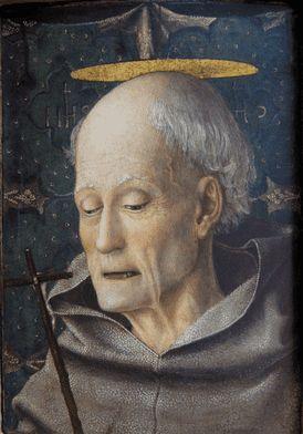 W 1402 wstąpił do zakonu franciszkanów, rok później złożył śluby zakonne i w 1404 otrzymał święcenia kapłańskie.  Dał początek nowej gałęzi zakonu — zwanego obserwantami, a w Polsce bernardynami. Reguła zakonu charakteryzowała się surowością, w ten sposób Bernardyn próbował przywrócić pierwotny charakter reguły franciszkańskiej. Zakładał nowe klasztory, podporządkowane głoszonym przez siebie zasadom.  Bernardyn był również wybitnym mówcą. Podczas kazań, głoszonych przez niego w całej Italii, zbierały się tłumy wiernych. Stąd też często odbywały się one nie w kościołach, a na placach przed świątyniami. Znany był z gorliwej modlitwy i oddawaniu szczególnej czci imieniu Jezus. Z tego powodu był podejrzewany o herezję. Za wstawiennictwem świętego Jana Kapistrana u papieża Marcina V został uwolniony od zarzutu.  W 1435 został generalnym przełożonym obserwantów. W 1439 brał udział w soborze florenckim i działał tu na rzecz zjednoczenia greckiego kościoła z katolickim. Trzykrotnie odmówił proponowanego mu biskupstwa w Ferrarze, Urbino i Sienie. Był też twórcą cennych dzieł teologicznych, dzięki którym został uznany za Doktora Kościoła.  Bernardyn ze Sieny jest patronem Kalifornii, oręduje przy chorobach płuc i uzależnieniach od hazardu.