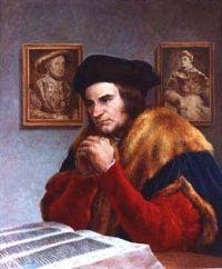 Tomasz More (Morus) urodził się w Londynie 7 lutego 1478 r. jako syn poważanego mieszczanina. Kiedy miał lat 12, umieszczono go na dworze kardynała Mortona, który sprawował równocześnie urząd królewskiego kanclerza. Później zapisał się na studia na uniwersytecie w Oksfordzie. Jednak ojciec wolał mieć syna prawnika. To bowiem otwierało przed nim drogę do kariery urzędniczej. Dlatego szesnastoletni Tomasz został umieszczony w Inns of Law w Londynie. Kiedy w 1499 roku Erazm z Rotterdamu nawiedził po raz pierwszy Anglię, zaprzyjaźnił się serdecznie z młodszym od siebie o 11 lat Tomaszem. Po ukończeniu studiów Tomasz został biegłym i wziętym adwokatem. Wkrótce wybrano go posłem do parlamentu. Tutaj zaraz na początku naraził się królowi Henrykowi VIII tym, że przeforsował w parlamencie sprzeciw wobec wniosku króla postulującego nałożenie osobnego podatku na poddanych. Dla poznania świata wyjechał do Francji, gdzie zwiedził uniwersytety: w Paryżu i w Lowanium. Kiedy powrócił do Anglii, zrzekł się wszelkich stanowisk i wstąpił do kartuzów. Po czterech latach pobytu w klasztorze przekonał się, że to jednak nie jest jego droga. Ożenił się z siedemnastoletnią Jane Colt i zamieszkał z nią w wiejskim domku w Bucklersbury pod Londynem. Były to najszczęśliwsze lata w jego życiu. Sielanka trwała krótko. Ukochana żona zmarła niebawem, zostawiając Tomaszowi czworo drobnych dzieci. Był zmuszony ożenić się po raz drugi. Alicja Middleton była od niego o siedem lat starsza. Nie miał z nią potomstwa, ale wspólnie wychowywali dzieci Tomasza z pierwszego związku. W 1510 roku Tomasz objął urząd sędziego do spraw cywilnych. Jako specjalista został wysłany do Flandrii dla zawarcia traktatu pokojowego. W 1521 roku pełen sławy ze swojej pracy i dzieł został przez króla podniesiony do godności szlacheckiej. Król upodobał sobie w zręcznym urzędniku. W 1521 roku nobilitował Tomasza (nadal mu tytuł szlachecki), a także pasował go na rycerza. Następnie mianował go przewodniczącym sądu oraz tajnym rad
