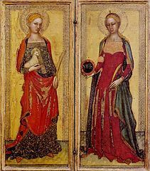 I0512  Domitylla (Domicela)[1], właśc. Flavia Domitilla (ur. w I w. w Rzymie, zm. w II w. w Terracina) – córka św. Plantylli i krewna Flawiusza Klemensa[2], męczennica chrześcijańska, święta Kościoła katolickiego.  Domitylla jest postacią pojawiającą się w legendarnej opowieści o świętym Nereuszu i Achillesie[1].  W czasie prześladowań chrześcijan za Domicjana miała zostać zesłana na wyspę Ponza i ponieść śmierć męczeńską za wyznawaną wiarę[3] lub zginąć w pożarze domu w którym mieszkała[2].  Jej imieniem nazwane zostały katakumby (katakumby Domitylli), od 2009 zarządzane przez werbistów[4] przy Via Ardeatina. Zapiski o świętej Domitylli znajdujemy u Euzebiusza z Cezarei[3].  Jej wspomnienie liturgiczne obchodzone jest 12 maja za Martyrologium Rzymskim[1].