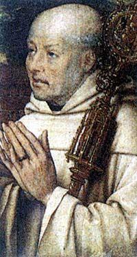 IV0820 Bernard uczył, że do Boga człowiek zbliża się raczej przez pokorę i miłość niż przez rozum.