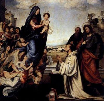 Bernard uczył, że do Boga człowiek zbliża się raczej przez pokorę i miłość niż przez rozum.