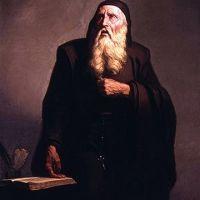 """II0630 30 czerwca Błogosławiony Rajmund Lull, męczennik Rajmund urodził się pod koniec 1222 lub na początku 1223 r. na Majorce, która od końca 1229 r. należeć będzie do Królestwa Aragonii. Miasto zamieszkiwali wówczas: katalońska szlachta, kupcy i bankierzy z Genui i Pizy, żydowscy handlarze, ale także ludność muzułmańska, która niebawem popadnie w niewolę chrześcijan. Rajmund wywodził się zapewne z burżuazji, która wtedy była swego rodzaju miejską arystokracją. Wcześnie dostał się na dwór Jakuba I, króla Aragonii, potem na dwór Jakuba II z Majorki, u którego został marszałkiem dworu. W 1257 r. ożenił się z Blanką Picany, która urodziła mu syna Dominika oraz córkę Magdalenę. W pięćdziesiąt lat później wyzna, że był wówczas """"żonaty, z dziećmi, dość bogaty, lekkomyślny i światowy"""". W wieku 30 lat doznał wizji Ukrzyżowanego. Gdy wizja czterokrotnie się powtórzyła, postanowił: 1) przyłożyć się do nawracania muzułmanów, nawet gdyby miał ponieść męczeństwo; 2) napisać książkę przeciw błędom niewiernych; 3) przekonać papieża i królów, aby założyli klasztory dla przyszłych misjonarzy i uczyli ich języków, którymi mówią niewierni. Udał się następnie jako pielgrzym do Rocamadour i Composteli. Potem w Barcelonie spotkał się z Rajmundem de Peñafort, a ten doradził mu, aby studia odbył nie w Paryżu, ale na Majorce. Tam to przez dziewięć lat uczył się łaciny, arabskiego (od nabytego niewolnika saraceńskiego), filozofii, teologii oraz innych dyscyplin. Medycynę zgłębiał w Montpellier. Około 1274 r. powziął myśl o własnej, jak mniemał, sztuce nawracania. Napisał więc Ars compendiosa inveniendi veritatem i kilka dziełek pomocniczych: Ars demonstrativa, Blaquerna, Doctrina pueril, Liber de gentili et tribus sapientibus, Demonstrationes, Liber principiorum theologiae, Liber de Sancto Spiritu, Oracions e contemplacions, Libre d'amic e amat. W 1276 r. Rajmund założył w Miramar, na Majorce, klasztor dla nauczania misjonarzy języków wschodnich. Niestety, z powodu niepokojów politycznych n"""