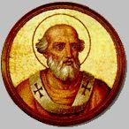 I0518 Jan I (ur. w V wieku w Toskanii, zm. 18 maja 526 w Rawennie[1]) – męczennik i święty Kościoła katolickiego, 53. papież w okresie od 13 sierpnia 523 do 18 maja 526[2].   Spis treści 1Życiorys 2Zobacz też 3Przypisy 4Bibliografia Życiorys Jan urodził się w Toskanii, żył na przełomie V i VI wieku. Stolicę Piotrową objął 13 sierpnia 523 r. po swoim poprzedniku, Hormizdasie. W chwili wyboru był człowiekiem schorowanym i w podeszłym wieku[1]. Wprowadził do kalendarza aleksandryjski system obliczania daty Wielkanocy, według obliczeń Dionizego Małego, mnicha pochodzącego ze Scytii Mniejszej[1].  W związku z dekretem cesarza Justyna I, nakazującym arianom zwrot wszystkich kościołów katolikom, król Ostrogotów Teodoryk Wielki, przymusił papieża, aby udał się do Konstantynopola w celu uzyskania złagodzenia zarządzenia oraz zgody na powrót do arianizmu przechrzczonych na katolicyzm arian[2]. Była to pierwsza w historii podróż papieża do Konstantynopola. Jan został przyjęty na dworze cesarskim z honorami[1]. Mieszkańcy miasta wyszli przed mury miasta z płonącymi pochodniami z cesarzem na czele, który złożył pokłon. 19 kwietnia 526 odprawił mszę po łacinie, podczas której włożył na głowę cesarza koronę – fakt ten nie miał jednak znaczenia powtórnej koronacji, a był raczej powtórzeniem gestu patriarchów praktykowanego podczas różnych uroczystości[3]. Jan uzyskał zgodę na zaprzestanie prześladowań arian, lecz nie wspomniał o drugim żądaniu Teodoryka[1]. Po powrocie do stolicy Ostrogotów, Rawenny, Jan I przedłożył utrzymanie edyktu cesarskiego. Ze względu na brak zgody na rekonwersję arian został przez króla uwięziony[4]. 18 maja 526 r. zmarł w więzieniu z powodu złego traktowania. Dla zatuszowania zbrodni Teodoryk zezwolił na uroczysty pogrzeb z udziałem licznego duchowieństwa i wiernych. Według relacji ówczesnego biskupa Rawenny, Maksyma, w czasie pogrzebu miał zostać uwolniony od szatana pewien opętany. Cztery lata później ciało papieża przeniesiono do Rzymu i pochowano w prz