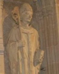 Just z Canterbury Przejdź do nawigacjiPrzejdź do wyszukiwania Święty Justus Ilustracja Data śmierci10 listopada 627 Wspomnienie10 listopada  ilustracja biskup Rochester Okres sprawowania604-624 arcybiskup Canterbury Okres sprawowania624-627 Wyznaniechrześcijaństwo Sakra biskupia604 CommonsMultimedia w Wikimedia Commons Justus (zm. 10 listopada 627) – biskup Rochester od 604 do 624, arcybiskup Canterbury od 624 roku.  W 601 roku został wysłany przez papieża Grzegorza I Wielkiego na Wyspy Brytyjskie w charakterze misjonarza. W 604 roku arcybiskup Augustyn z Canterbury osadził go jako biskupa Rochester. W 616 roku, za panowania Eadbalda z Kentu, opuścił Wyspy Brytyjskie i udał się do Anglii, skąd powrócił po nawróceniu się anglosaskiego władcy.  W 624 roku, po śmierci Mellita został arcybiskupem Canterbury.  Wspomnienie Justusa obchodzi się 10 listopada.