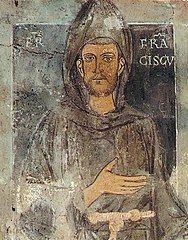 VI0525 W Asyżu w Umbrii przeniesienie relikwii św. Franciszka, Wyznawcy, przez Grzegorza IX, papieża.