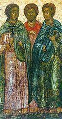 I 0522  Bazyliszek (męczennik) Przejdź do nawigacjiPrzejdź do wyszukiwania Święty Bazyliszek męczennik[a] ilustracja Data urodzeniaw III wieku Data i miejsce śmierci22 maja ok. 308  Komana (Pont) Czczony przezKościół katolicki Cerkiew prawosławną Wspomnienie3 marca i 22 maja[b] 16 marca i 4 czerwca[c] Bazyliszek, cs. Muczenik Wasilisk (zm. 22 maja ok. 308 w Komanie (Pont) – męczennik chrześcijański, święty Kościoła katolickiego i prawosławnego.