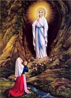 Wspomnienie dowolne Najświętszej Maryi Panny z Lourdes.  Światowy Dzień Chorego -   Niepokalana Dziewica objawiła się Bernardecie Soubirous w roku 1858 w Lourdes, we Francji, przy grocie masabielskiej. Treścią orędzia Maryi jest wezwanie grzeszników do nawrócenia, a całego Kościoła do modlitwy i pokuty. Lourdes stało się miejscem promieniującym na cały świat duchem miłości, zwłaszcza względem chorych i ubogich. Wierni wypraszają tam liczne łaski dzięki wstawiennictwu Matki Najświętszej. brewiarz.pl