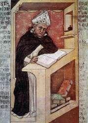 """wczoraj ------------------------- 1115 -wspomnienie Św. Alberta Wielkiego, biskupa i doktora Kościoła-------------------------- Ciemniak ze średniowiecza - św. Albert Wielki =============================== Średniowiecze było ciemne – każdy o tym wie, prawda? Trudno więc przekonać, że żyjący w XIII w. Albert Wielki naprawdę był wielki.  Średniowieczny patron ewolucjonistów Papieska katecheza o świętym Święty Albert Cóż z tego, że należał do największych umysłów swoich czasów, że był wybitnym badaczem filozofii Arystotelesa i że jego prace dały fundament dla dokonań teologicznych i filozoficznych jego ucznia św. Tomasza z Akwinu? Cóż z tego, że pisał o niemal wszystkich dziedzinach nauki? Był średniowiecznym zakonnikiem (dominikaninem), więc był ciemny. I już.  Może jego marną reputację choć odrobinę podratuje fakt, że zajmował się też naukami przyrodniczymi: w 1250 r. uzyskał arszenik, odkrył wykorzystane kilkaset lat później w fotografii zjawisko światłoczułości azotanu srebra, a w dziedzinie botaniki zapoczątkował całą szkołę naukową. Pisał nawet o muzyce i wśród współczesnych nam teoretyków tej sztuki zainteresowanie budzi jego podejście do ciszy, którą uważał za integralną część muzyki. Przypisuje mu się nawet stworzenie androida – maszyny o cechach człowieka. W każdym razie jego wszechstronność skłoniła jego współczesnych do nadania mu tytułu: doctor universalis (doktor uniwersalny).  Porzucając już ironiczny ton, muszę powiedzieć, że w Albercie Wielkim najbardziej urzeka mnie połączenie olbrzymiej wiedzy i pokory. Gdy był biskupem bawarskiej Ratyzbony, przylgnęło do niego przezwisko: """"biskup w buciorach"""", ponieważ nosił obuwie używane raczej przez chłopów niż dostojników. Może więc prawdziwa jest pobożna legenda, według której Albert miał w młodości widzenie Matki Bożej. Powiedziała mu, że znakiem jego zbliżającej się śmierci będzie utrata pamięci podczas publicznego wykładu. Tak też się stało.  Widzę więc w wyobraźni 87-letniego mędrca z Kolonii, pierwszego Ni"""