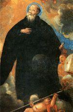 0601 św. Inigo 1 czerwca Święty Inigo z Oña, opat Inigo to germańska forma imienia Ignacy. Wspominany dziś Święty pochodził z okolic Bilbao. Żył najpierw jako pustelnik. Potem wstąpił do benedyktynów w Pena, w Aragonii. Po jakimś czasie znów wrócił do eremu i tam żył sub monachi habitu. Gdy Sanchez, król Nawarry, chciał w 1010 r. podporządkować opactwo w Oña reformie kluniackiej, wezwał Inigo do objęcia rządów w tym ośrodku. Dzięki nim opactwo zakwitło. Inigo zmarł 1 czerwca 1057 r. Nie jest rzeczą pewną, czy Aleksander III kanonizował go formalnie w 1163 r. Klemens XII przychylił się do prośby króla Hiszpanii Filipa V i kazał go wpisać do Martyrologium Rzymskiego. Inigo stał się patronem chrzcielnym św. Ignacego Loyoli.
