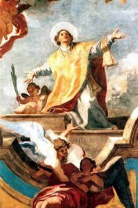 14 stycznia 2020wtorek Rok liturgiczny: A/II I Tydzień zwykły -- 14 stycznia Święty Feliks z Noli, prezbiter --- Feliks żył w III w. Informacje na jego temat znamy z pism jego rodaka, św. Paulina z Noli (353-431), który zawdzięczał mu swoje nawrócenie i napisał na jego cześć kilka poematów. Feliks był Syryjczykiem, synem legionisty rzymskiego Hermiasa, który osiedlił się w Noli, na południe od Neapolu. Tam urodzili się jego synowie. Feliks poświęcił się służbie Bożej, a jego brat obrał po ojcu zawód legionisty-żołnierza. Kiedy Feliks przyjął święcenia kapłańskie, wybuchło prześladowanie wyznawców Chrystusa za panowania Decjusza. Biskup Noli, Maksym (późniejszy święty), opuścił wówczas potajemnie diecezję, cały ciężar jej prowadzenia oddając w ręce Feliksa. Ten wkrótce został aresztowany i uwięziony. Według relacji św. Paulina - Feliks był torturowany. Jego poranione ciało wleczono po ostrych muszlach i skorupach. Udało mu się jednak ujść z więzienia. Ukrywał się przez pewien czas w wyschniętej studni. Po śmierci Decjusza powrócił. Ponieważ jednak skonfiskowano mu majątek rodzinny, żył z pracy swoich rąk. Po śmierci schorowanego Maksyma został wybrany na biskupa Noli, ale odmówił przyjęcia godności, proponując na to stanowisko Kwintusa. Zmarł 14 stycznia około 260 roku, opłakiwany przez wszystkich. Chociaż zmarł śmiercią naturalną, określany był mianem męczennika przez św. Grzegorza z Tours; św. Augustyn nazywał go jednak wyznawcą. Grób Feliksa w Cimitile pod Noli stał się szybko ośrodkiem pielgrzymkowym. Nad tym grobem został uzdrowiony św. papież Damazy, o czym zaświadczył w poemacie napisanym na cześć świętego Feliksa. Kult Feliksa był również żywy w Rzymie, w bazylice in Pincis. Jest patronem miasta Nola i opiekunem zwierząt domowych. Św. Feliksa wzywa się, aby chronił przed krzywoprzysięstwem, kłamstwami, fałszywymi świadkami i chorobami oczu.  W ikonografii przedstawiany jest w towarzystwie anioła. Obok niego pająk - symbol roztropności, ostrożności, ocalenia -