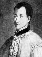 Św. Klaudiusz de La Colombiere, kapłan, zakonnik   łac. Claudius człowiek należący do rodu Klaudiuszów   Św. Klaudiusz de La Colombiere, kapłan, zakonnik (†1682) po wstąpieniu do jezuitów studiował w Lyonie, Awinionie, Paryżu. Zyskał sławę jako mówca i wychowawca. Będąc spowiednikiem sióstr z klasztoru wizytek w Parayle-Monial, poznał św. Małgorzatę Marię Alacoque, apostołkę kultu Najświętszego Serca Jezusowego. Od tej chwili upowszechnia nabożeństwo do Serca Pana Jezusa słowem i piórem. w 1676 roku zostaje kapelanem księżnej Yorku, Marii Beatrycze d'Este, przyszłej królowej Anglii. Księżnę jako katoliczkę i jej dwór inwigilowano. Ponieważ Klaudiusz nawrócił księcia Yorku i kilku anglikanów, został wtrącony do lochów więzienia King Bench. Po paru tygodniach aresztu, gdzie zapadł na nieuleczalną chorobę, został wydalony z kraju. Kilka miesięcy później umiera w Parayle-Monial, mając 41 lat. Beatyfikowany w 1929 roku. Kanonizowany przez Jana Pawła II w 1992.