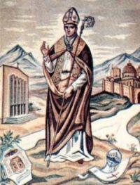 """27 marzec ---------------------- Św. Ernest, opat, męczennik        germ. ernst, ernust powaga, surowość, zapał; """"oby był poważny, wytrwały""""  Św. Ernest, opat, męczennik, pochodził ze szlacheckiej rodziny von Steussling. Od roku 1141 był opatem w klasztorze w Zwiefalten (w Niemczech). w sześć lat później złożył urząd, aby wziąć udział w wyprawie krzyżowej. Uczestniczył w niej u boku biskupa Ottona z Freising. Turcy zmusili oddział do ucieczki, Ernest zaś zginął pod Doryleą we Frygii w 1147 roku podczas bitwy z wojskami otomańskimi.  Według innej wersji głosił Ewangelię Persom i Arabom. Passio, ułożona pod koniec XII stulecia, opowiadała, że w okrutny sposób zamęczono go w samej Mekce w 1147 r.  Wcześnie czczono go w Zwiefalten, gdzie obchodzono jego wspomnienie. Jego kult nigdy nie został oficjalnie zaaprobowany."""