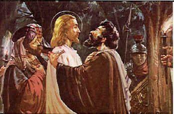 7 kwietnia 2020wtorek Rok liturgiczny: A/II Wielki Tydzień Pierwsze czytanie:Iz 49, 1-6Psalm responsoryjny:Ps 71 (70), 1-2. 3-4a. 5-6b. 15 i 17 (R.: por. 15a)Werset przed Ewangelią:-Ewangelia:J 13, 21-33. 36-38 ---------------------- Chwała Tobie, Królu wieków  Witaj, nasz Królu, posłuszny woli Ojca, jak cichego baranka na zabicie zaprowadzono Ciebie na ukrzyżowanie.  Chwała Tobie, Królu wieków EWANGELIA J 13, 21-33. 36-38 Słowa Ewangelii według Świętego Jana  W czasie wieczerzy z uczniami Jezus wzruszył się do głębi i tak oświadczył: «Zaprawdę, zaprawdę, powiadam wam: Jeden z was Mnie wyda». Spoglądali uczniowie jeden na drugiego, niepewni, o kim mówi.  Jeden z Jego uczniów – ten, którego Jezus miłował – spoczywał na Jego piersi. Jemu to dał znak Szymon Piotr i rzekł do niego: «Kto to jest? O kim mówi?» Ten, oparłszy się zaraz na piersi Jezusa, rzekł do Niego: «Panie, któż to jest?»  Jezus odparł: «To ten, dla którego umoczę kawałek chleba i podam mu». Umoczywszy więc kawałek chleba, wziął i podał Judaszowi, synowi Szymona Iskarioty. A po spożyciu kawałka chleba wstąpił w niego Szatan.  Jezus zaś rzekł do niego: «Co masz uczynić, czyń prędzej! » Nikt jednak z biesiadników nie rozumiał, dlaczego mu to powiedział. Ponieważ Judasz miał pieczę nad trzosem, niektórzy sądzili, że Jezus powiedział do niego: «Zakup, czego nam potrzeba na święto», albo żeby dał coś ubogim. On więc po spożyciu kawałka chleba zaraz wyszedł. A była noc.  Po jego wyjściu rzekł Jezus: «Syn Człowieczy został teraz otoczony chwałą, a w Nim Bóg został chwałą otoczony. Jeżeli Bóg został w Nim otoczony chwałą, to i Bóg Go otoczy chwałą w sobie samym, i to zaraz Go chwałą otoczy.  Dzieci, jeszcze krótko jestem z wami. Będziecie Mnie szukać, ale – jak to Żydom powiedziałem, tak i teraz wam mówię – dokąd Ja idę, wy pójść nie możecie».  Rzekł do Niego Szymon Piotr: «Panie, dokąd idziesz?»  Odpowiedział Mu Jezus: «Dokąd Ja idę, ty teraz za Mną pójść nie możesz, ale później pójdziesz».  Powiedział Mu Piotr