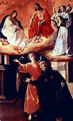 LXXXVII 30 października 2020 piątek Św. Alfons Rodriguez. Cierpliwy furtian Alfons Rodriguez przyszedł na świat w rodzinie kupieckiej 25 lipca 1533 roku w Segovii, w Hiszpanii. Słynął ze swej skromności i uprzejmości. Nikomu nie odmówił pomocy i dobrego słowa.  W wieku 14 lat Alfons został przyjęty do jezuickiego kolegium w Alcala. Od wczesnego dzieciństwa jego marzeniem było kapłaństwo, jednak śmierć ojca, sprawiła, że chłopak musiał powrócić do rodzinnego domu, aby pełnić obowiązki administratora przedsiębiorstwa tekstylnego, jakim zarządzał zmarły. Nie były to najszczęśliwsze lata do młodego Rodrigueza, a sercem cały czas był blisko Boga.  W wieku lat 17 ożenił się z Marią Suarez. Związek był bardzo udany, dlatego ogromnym ciosem była śmierć żony, zaledwie siedem lat po zawarciu małżeństwa. Na tym nie skończyło się pasmo nieszczęść - Rodriguez stracił dwoje jedynych dzieci. Mężczyzna chciał znaleźć ukojenie tam, gdzie zawsze je odnajdował – w modlitwie. Postanowił poświęcić swe życie Bogu. Sprzedał przedsiębiorstwo i rozpoczął studia na uniwersytecie w Walencji, w przyszłości chcąc zostać kapłanem. Okazało się, że nauka sprawiała mu pewne trudności, zbyt wiele lat stronił od ksiąg i ciężko było nadrobić zaległości. Zniechęcony swymi niepowodzeniami zrezygnował ze studiów.  Wtedy wstąpił do jezuitów – został bratem zakonnym. Przez 36 lat swej posługi pełnił funkcję furtiana. Wolny czas spędzał na samotnej modlitwie i kontemplacji. Podobno miewał mistyczne zachwyty i ekstazy, co jeszcze bardziej utwierdzało go w wierze. Plotka głosi, że spokojny braciszek nigdy nie wypuszczał z dłoni różańca. Zasłynął też z pisania tekstów, traktujących o ascetycznym trybie życia.  Rodriguez uważał, że ulgę człowiekowi może przynieść wyłącznie pokuta. Dlatego cierpliwie znosił wszelkie niepowodzenia, nie reagował na zaczepki i wulgarne wyzwiska wędrowców, starając się każdemu odpowiedzieć dobrym słowem. Gdy nie spotykały go nieprzyjemności, sam szukał trudnych dróg, aby w czasie ic