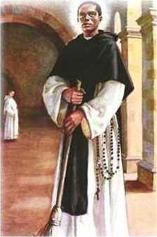 """XCI 3 listopada 2020 wtorek Rok liturgiczny: A/II Dzień Powszedni albo wspomnienie Św. Marcina de Porres, zakonnika Święty Marcin de Porres: Patron tolerancji rasowej Urodził się 9 grudnia 1569 roku w Limie, jako owoc romansu hiszpańskiego szlachcica i panamki o afrykańskim pochodzeniu. Ojciec wyrzekł się go, odmawiając nazwiska, uważał bowiem, że posiadanie ciemnoskórego potomka jest kompromitujące.  Rozpoczął studia medyczne i farmaceutyczne, ale nie były jego pasją - marzył o zajęciu dającym nieustanny kontakt z ludźmi. Postanowił więc zostać fryzjerem, jednak szybko porzucił i ten fach, by spełnić się jako zakonnik.  Miał 15 lat gdy zgłosił się do klasztoru dominikanów, byli bowiem pierwszym zakonem, który wysyłał swych przedstawicieli do Ameryki. Początki do łatwych nie należały. W metryce chłopca widniał wpis """" ojciec nieznany', a on sam był mulatem, co wiązało się z pogardliwym traktowaniem przez wielu białych duchownych. Nie pozwolono mu wstąpić w poczet braci, musiał zadowolić się posługą tercjarza zakonnego. Pokornego, oddanego pracy młodzieńca wreszcie doceniono. Znosił wszelkie niedogodności, czym wzbudził sympatię ojców zakonu.  Pozwolono mu złożyć śluby gdy skończył 24 lata. Jego atutami były nie tylko pokora, ale i niezwykła wręcz pobożność. W dzień pracował, w nocy adorował Najświętszy Sakrament. Bardzo często rozmyślał nad męczeńską śmiercią Jezusa, uważał, że wynagrodzić grzechy może tylko poprzez biczowanie się, to bowiem miało zbliżać go do cierpiącego Chrystusa.  Młody Dominikanin miał też pewne wyjątkowe talenty. Potrafił przepowiadać ludziom przyszłość i odczytywać ich myśli i zamiary. Niektóre źródła podają informację o jego rzekomej umiejętności bilokacji – pojawiania się w kilku miejscach jednocześnie. W klasztorze prowadził szpital, gdzie leczył nie tylko dominikanów, ale i ludność świecką, czym zyskał sympatię tłumów, szczególnie Indian i czarnoskórych niewolników.  Pomagał ludziom bez względu na ich stan społeczny i kolor skóry, założył """