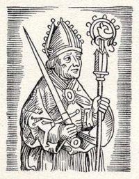 XCV 7 listopada 2020 sobota Święty u władzy - św Engelbert Engelbert przyszedł na świat około 1185 roku jako syn hrabiego von Berg.  Gdy miał czternaście lat został kanonikiem w Kolonii, z czasem zaś – dokładnie od roku 1203 - pełnił funkcję prepozyta, czyli przewodniczącego kapituły kanoników katedry w Akwizgranie.  Kiedy w Niemczech doszło do zbrojnego konfliktu pomiędzy Ottonem IV i Filipem Szwabskim, Engelbert poparł Filipa w jego staraniach o tron. Papież Innocenty III popierał jednak Ottona, w związku z czym, Engelbert, w wieku 21 lat, został ekskomunikowany.  Z pokorą przyjął papieską decyzję, która zresztą z czasem została cofnięta, a późniejszy święty wziął nawet udział w zorganizowanej przez Innocentego wyprawie krzyżowej przeciw Albigensom, która miała miejsce 1212 roku... Mając zaledwie 31 lat Engelbert zostaje arcybiskupem Kolonii. Na terenie jego diecezji toczą się walki pomiędzy Teodorykiem, hrabią na Kleve oraz Walramem, księciem Limburga. Świętemu udało się – co dotąd wydawało się niemożliwe – pogodzić obie zwaśnione strony. Po tym dyplomatycznym sukcesie nie spoczął jednak na laurach.  Następną rzeczą, jaką postanowił się zająć, było uporządkowanie kościelnej administracji oraz diecezjalnych finansów. Sprowadził do Kolonii franciszkanów i dominikanów, a także zajął się wychowaniem syna cesarza Fryderyka II, Henryka, którego w 1222 roku osobiście koronował na króla. Gdy Fryderyk przez pięć lat przebywał poza granicami Niemiec, to właśnie Engelbert, w jego zastępstwie, sprawował władzę na krajem.  Święty wielokrotnie interweniował, gdy dochodziły go głosy o ucisku i cierpieniach chłopów, czy też zakonników, których atakowali możni, świecy panowie. Jedną z takich interwencji przypłacił Engelbert życiem...  W 1225 roku Fryderyk z Insenburga zaczął nękać siostry zakonne w Essen. Próbujący wstawić się za nimi, Engelbert został napadnięty i zamordowany przez zbirów Fryderyka. Męczeńska śmierć świętego miała miejsce 7 listopada 1225 roku w Gevelsberg. Fryd