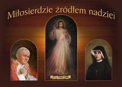 """Św. Faustyna Kowalska """"Czyń, co chcesz, rozdawaj łaski, jak chcesz, komu chcesz i kiedy chcesz"""" (Dz. 31); """"A ja udzielam szczególnych łask tym duszom, za którymi się wstawiasz do mnie"""" (Dz. 599). Modlitwa zawierzenia Jezusowi Miłosiernemu Jezu Najmiłosierniejszy, mój Panie i Zbawicielu. Wobec nieba i ziemi, świadom(a) swojej nędzy, grzeszności i niewystarczalności, oddaję się dziś zupełnie i całkowicie, świadomie i dobrowolnie Twemu Nieskończonemu Miłosierdziu.  Ufając Twojej Miłosiernej Miłości wyrzekam się na zawsze i całkowicie: – zła i tego co do zła prowadzi – demonów i wszelkich ich spraw i pokus – świata i wszystkiego czym usiłuje mnie pociagać i zniewalać – siebie i wszystkiego co buduje i zaspokaja mój egoizm i pychę.  Oddaję się Tobie Jezu, Najmiłosierniejszy Zbawicielu, jako jedynemu mojemu Bogu i Panu, jedynej miłości, pragnieniu i celowi mojego życia. Z całą pokorą, ufnością i uległością wobec Twojej Najmiłosierniejszej Woli oddaję Ci siebie: – moje ciało, duszę i ducha – całą moją istotę – życie w czasie i w wieczności – przeszłośc, teraźniejszość i przyszłość – rozum, uczucia i pragnienia – wszelkie zmysły, władze i prawa – wolę i wolność moją – wszystko czym jestem, co posiadam i co mnie stanowi.  Nie zostawiam sobie nic, wszystko oddaję Twojej Świętej Woli przez ręce Niepokalanej Matki Miłosierdzia. Rozporządzaj mną jak chcesz, według Twojego Miłosierdzia. Broń mnie i posługuj się mną jako swoją wyłączną i całkowitą własnością. Jezu, ufam Tobie! Amen. / modlitwa ze strony Wspólnota Sióstr Służebniczek Miłosierdzia Bożego/"""