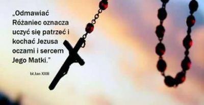 Maryjo, kiedy odmawiamy modlitwę, którą sama nam dałaś poprowadź nas w niej tak, jakbyś Ty tego chciała, jak pragnie tego Twój Syn, ucz nas Różańca Matko Ukochana ♥♥♥