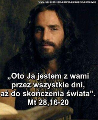 Odchodzi w jasnym obłoku I ufność ludziom przywraca, bo rajskie bramy otworzył praojców grzechem zamknięte (...)  Niech jedna radość połączy mieszkańców nieba i ziemi, bo Jezus idąc do Ojca pomiędzy nami zostaje.   Przyciągnij teraz, o Chryste, do siebie serca człowiecze i Duchem Świętym napełnij, gdy nam Go ześlesz od Ojca. Amen./fragm. Hymnu z Jutrzni/